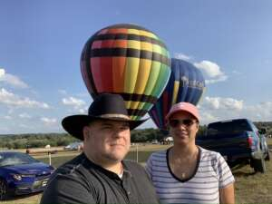 Leo attended The Best of Texas Food and Wine Balloon Weekend on Sep 12th 2020 via VetTix