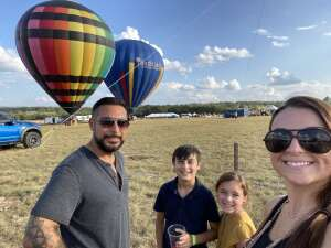 Courtney  attended The Best of Texas Food and Wine Balloon Weekend on Sep 12th 2020 via VetTix