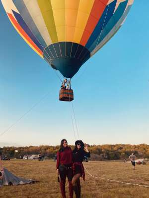 Daz attended The Best of Texas Food and Wine Balloon Weekend on Sep 12th 2020 via VetTix