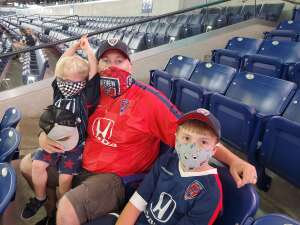 Robert H. attended Indy Eleven vs. Sporting Kansas City II - USL on Aug 1st 2020 via VetTix