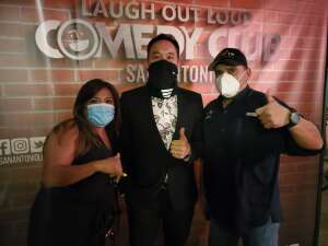 Joe attended Laugh Out Loud Comedy Club on Aug 8th 2020 via VetTix