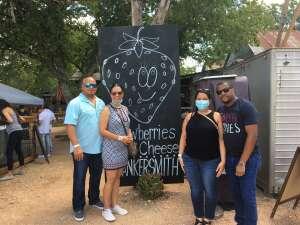 Analdo attended Fredericksburg Cheese and Wine Festival on Aug 8th 2020 via VetTix