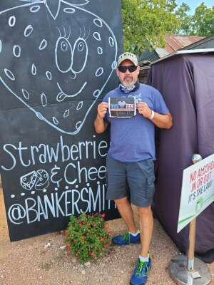Jimmy attended Fredericksburg Cheese and Wine Festival on Aug 8th 2020 via VetTix