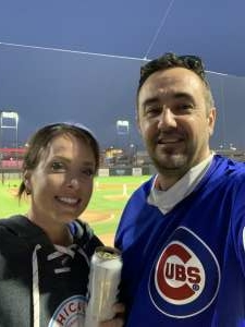 David attended Chicago Dogs vs. Milwaukee Milkmen - MiLB on Aug 13th 2020 via VetTix