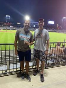 Brian B. attended Chicago Dogs vs. Milwaukee Milkmen - MiLB on Aug 13th 2020 via VetTix