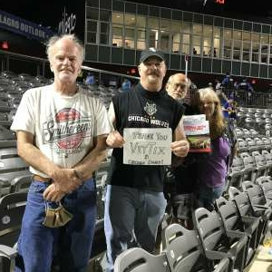 Paul attended Chicago Dogs vs. Milwaukee Milkmen - MiLB on Aug 13th 2020 via VetTix
