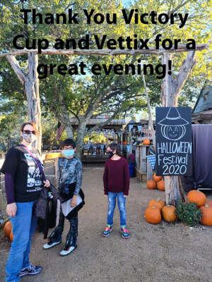 Walter attended Pumpkin and Pecan Festival on Oct 30th 2020 via VetTix