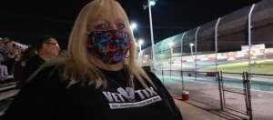 Kristyn attended Tucson Speedway - Full Moon / Full Race on Oct 3rd 2020 via VetTix