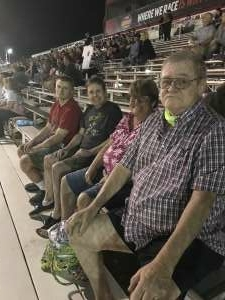 Chuck attended Tucson Speedway - Full Moon / Full Race on Oct 3rd 2020 via VetTix