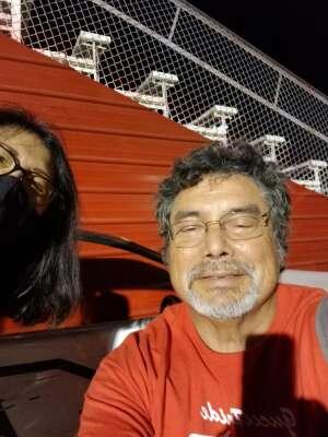 Yepper attended Tucson Speedway - Full Moon / Full Race on Oct 3rd 2020 via VetTix