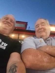 Sunny attended Tucson Speedway - Full Moon / Full Race on Oct 3rd 2020 via VetTix