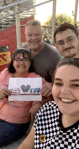 Glenn attended Tucson Speedway - Full Moon / Full Race on Oct 3rd 2020 via VetTix