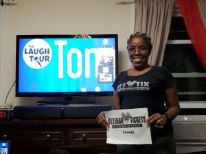 Q. attended The Laugh Tour: VIRTUAL Stand Up Comedy via ZOOM on Aug 29th 2020 via VetTix