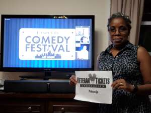 Q. attended Virtual Jersey City Comedy Festival - Stand Up on Aug 12th 2020 via VetTix