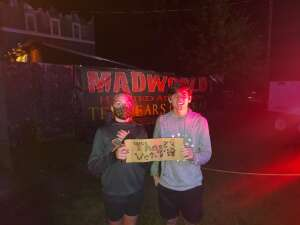 Rob attended Madworld Haunted Attraction on Oct 9th 2020 via VetTix