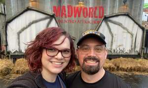 Dave attended MadWorld Haunted Attraction on Oct 10th 2020 via VetTix