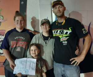 Kyle C. attended Tucson Speedway - 53rd Hank Arnold Memorial / Trunk N Treat on Oct 17th 2020 via VetTix