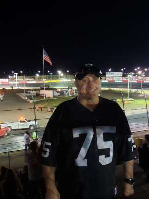 Chris attended Tucson Speedway - 53rd Hank Arnold Memorial / Trunk N Treat on Oct 17th 2020 via VetTix