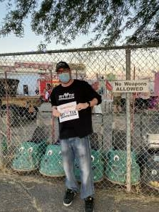 Matthew attended Tucson Speedway - 53rd Hank Arnold Memorial / Trunk N Treat on Oct 17th 2020 via VetTix