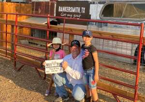 The Bucannon Family attended Bankersmith Dinner and Gunfight on Sep 4th 2020 via VetTix