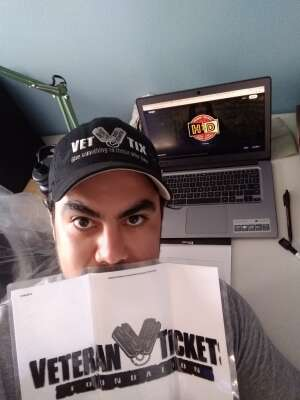 Ed attended High Dive Live Streaming - Stand Up Comedy Night - Virtual Show on Aug 27th 2020 via VetTix