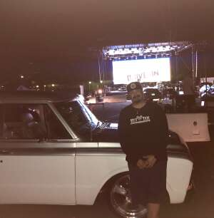 Adrian Hernandez attended Drive in at Westfield North County: the Rockin Retro Music From the 50's, 60's, and 70's on Aug 16th 2020 via VetTix