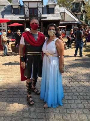 Tracey F attended Texas Renaissance Festival - 1001 Dreams on Oct 10th 2020 via VetTix