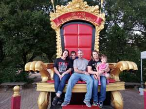 Kory and Stacey attended Texas Renaissance Festival - 1001 Dreams on Oct 10th 2020 via VetTix