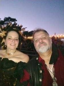 Schultz attended Texas Renaissance Festival - 1001 Dreams on Oct 11th 2020 via VetTix