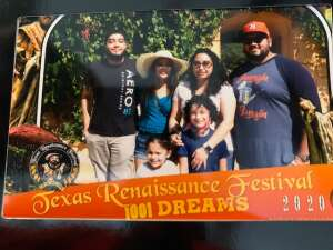 Edbert Cantu attended Texas Renaissance Festival - 1001 Dreams on Oct 11th 2020 via VetTix