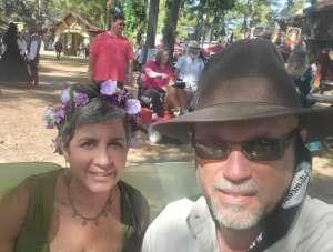 Tim attended Texas Renaissance Festival - 1001 Dreams on Oct 11th 2020 via VetTix