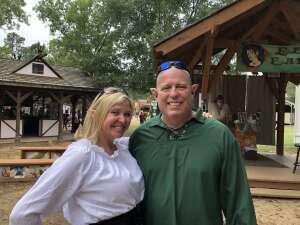 Bob attended Texas Renaissance Festival - Roman Bacchanal on Oct 17th 2020 via VetTix