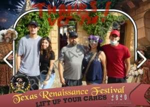 Jerry Garcia attended Texas Renaissance Festival - Roman Bacchanal on Oct 18th 2020 via VetTix