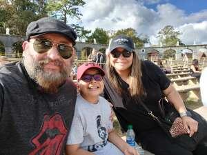 Rob attended Texas Renaissance Festival - Heroes and Villains on Nov 8th 2020 via VetTix