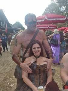 Sylvie attended Texas Renaissance Festival - Barbarian Invasion on Nov 14th 2020 via VetTix
