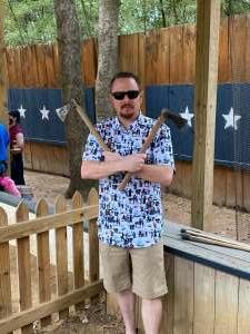 James attended Texas Renaissance Festival - Barbarian Invasion on Nov 14th 2020 via VetTix