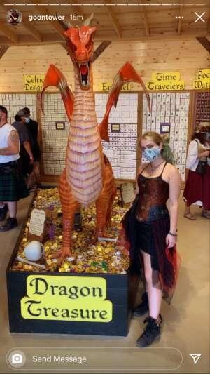 Danielle  attended Texas Renaissance Festival - Barbarian Invasion on Nov 14th 2020 via VetTix
