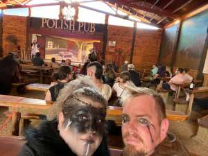 Glen attended Texas Renaissance Festival - Barbarian Invasion on Nov 15th 2020 via VetTix