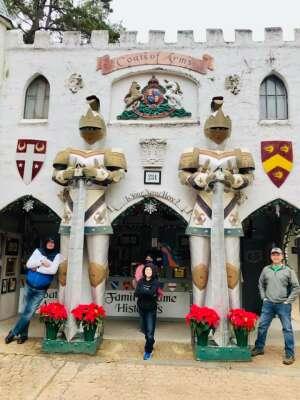 Earle attended Texas Renaissance Festival - Celtic Christmas on Nov 29th 2020 via VetTix