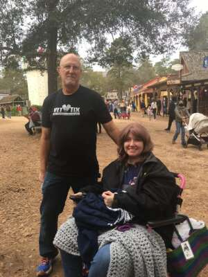 Bill and Nicole Carlson attended Texas Renaissance Festival - Celtic Christmas on Nov 29th 2020 via VetTix