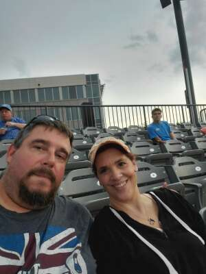 Keith Ustaszewski attended Chicago Dogs vs. St Paul Saints - MiLB on Aug 21st 2020 via VetTix