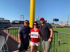 Lee attended Chicago Dogs vs. St Paul Saints - MiLB on Aug 21st 2020 via VetTix