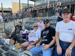 Paul  attended Chicago Dogs vs. St Paul Saints - MiLB on Aug 21st 2020 via VetTix