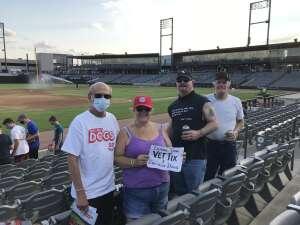 Paul attended Chicago Dogs vs. Milwaukee Milkmen - MiLB on Aug 28th 2020 via VetTix