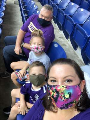 The Michael Family attended Indy Eleven vs. Louisville City FC - USL Championship on Sep 5th 2020 via VetTix