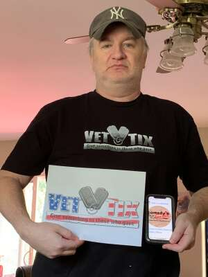 Jeff W attended Comedy's Best Kept Secret Tour 2020 - Virtual Comedy Show on Sep 18th 2020 via VetTix