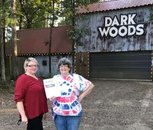 Sharon Howey USAF MSGT Ret attended Dark Woods Adventure Park - Combo Pass on Oct 2nd 2020 via VetTix