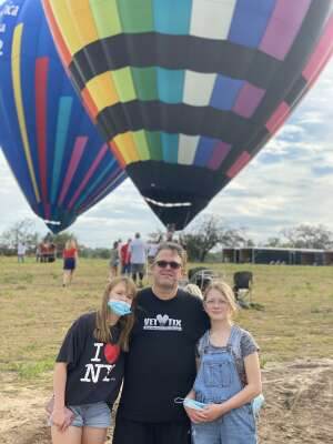 Stewart Anderson attended Victory Cup Polo Match, Derby Party & Hot Air Balloon Festival on Sep 4th 2020 via VetTix