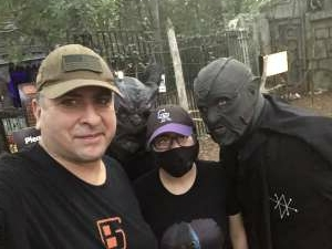 Fortunato attended Scream Hollow Wicked Halloween Park on Sep 18th 2020 via VetTix