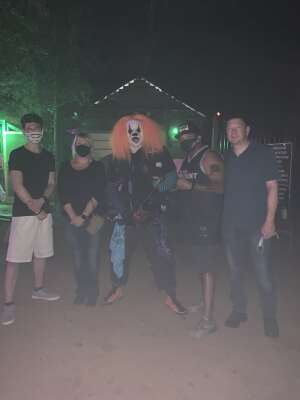 Michael Gutierrez attended Scream Hollow Wicked Halloween Park on Sep 18th 2020 via VetTix